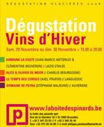 Dégustation Vins d'Hiver