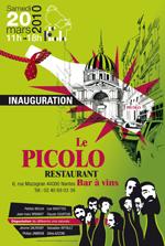 Inauguration - Le Picolo