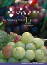 Le Salon des vins des Plaisirs de la Table