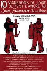 10 vignerons de Loire jettent l'ancre au San Francisco