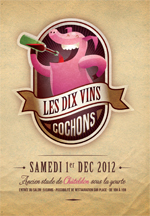 Les dix vins cochons