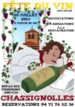 Fête du vin de Chassignole