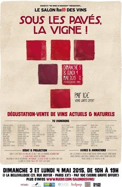Salon Rue89 des Vins - Sous les pavés la vigne