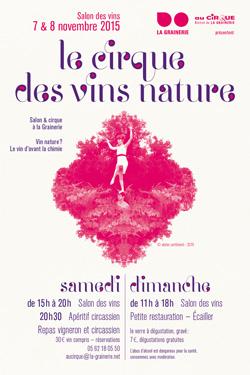 Le Cirque des Vins Nature