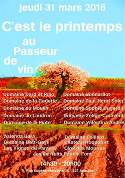 Dégustation Au Passeur de Vin