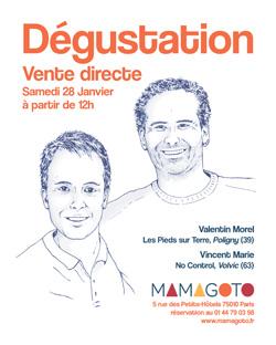 Dégustation au Restaurant Mamagoto