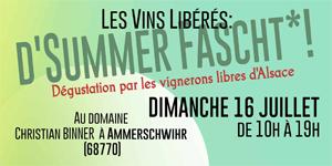 Vins Libérés : d'summer fascht!