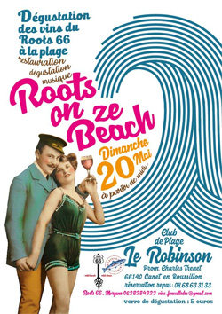 Roots on ze Beach