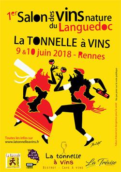 1er salon des vins nature du Languedoc en Bretagne
