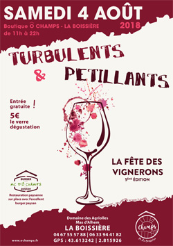 Turbulents et Pétillants