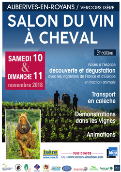 3ème Salon du Vin à Cheval