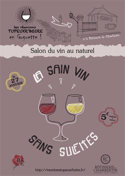 La sain vin sans sulfite