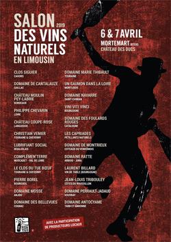 Salon des vins naturels en Limousin