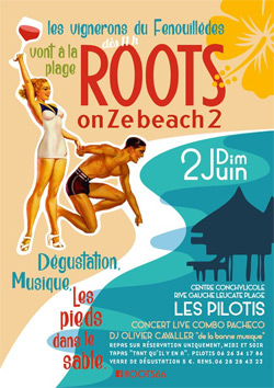 Roots on Ze beach
