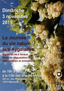 La journée du vin nature aux Aygalades