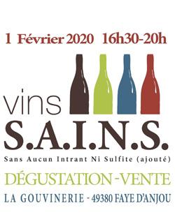 Dégustation des Vins SAINS