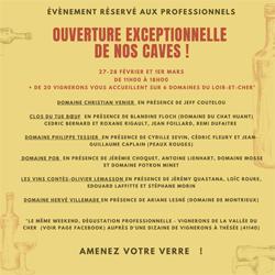 Dégustation professionnelle sur six domaines du Loir-et-Cher