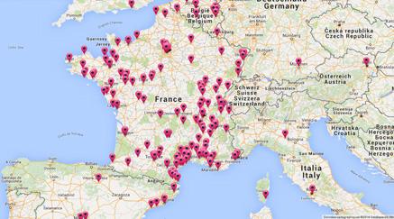 Carte des cavistes