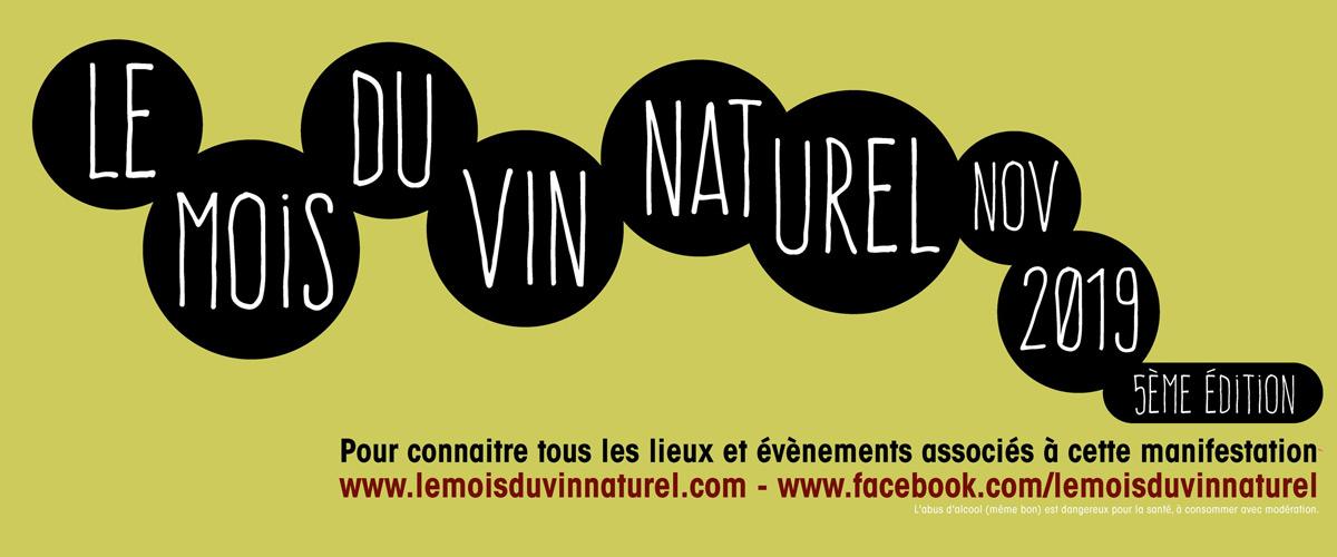 Le Mois du Vin Naturel 2019