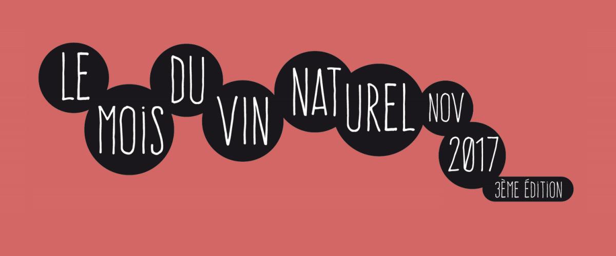 Le mois du vin naturels